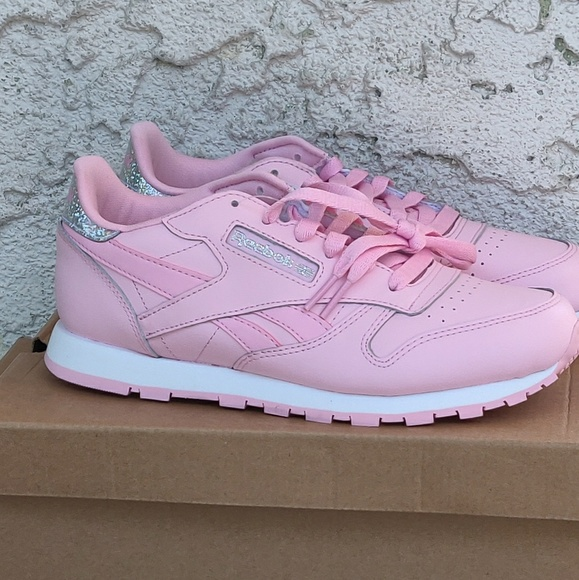 Reebok Other - Reebok classic leather pastel girl shoes